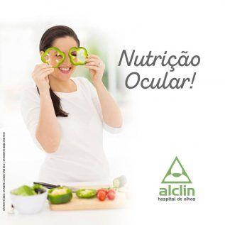 Você sabia que os olhos também precisam de nutrição? Vitaminas e suplementos...